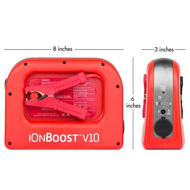 iOnBoost™™ V10 Lithium Jumpstarter