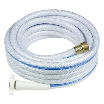 "Apex Neverkink RV/Marine Fresh Water Hose, White, 50'L x 5/8""D"