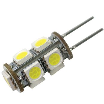 LED Replacement Bulbs - G4/JC10, 6 Pack