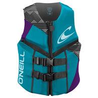 O'Neill Women's Reactor Life Jacket - Turquoise/Grape - 10