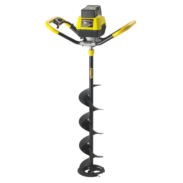 "Jiffy E6 Lightning Electric Ice Auger with 10"" XT Drill Assembly"