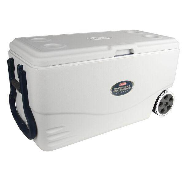 Coleman 82-Quart Offshore Pro Series Marine Wheeled Cooler
