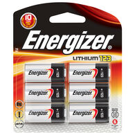 Energizer Specialty Lithium 123 Photo Battery, 6-Pack