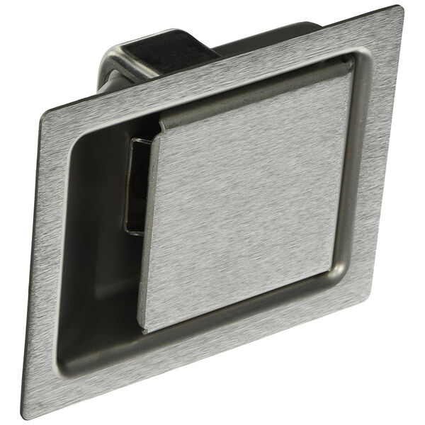 Southco Large Push-to-Close Paddle Latch - Stainless Steel - Non-Locking