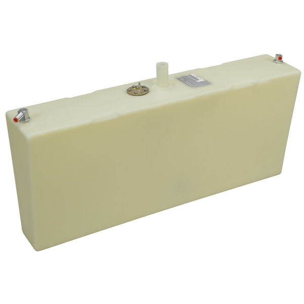 "Moeller Port Side Fuel Tank, 18 gal., 8.25""W x 39""L x 17.75""D"