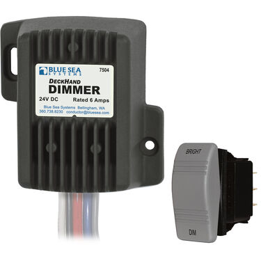Blue Sea Systems DeckHand Dimmer, 24V DC 6A