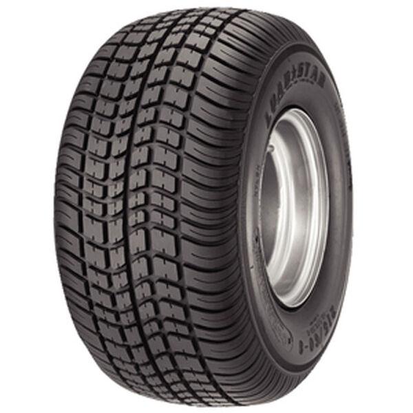 Kenda Loadstar K399 205/65-10 E Trailer Tire, White Wheel Assembly