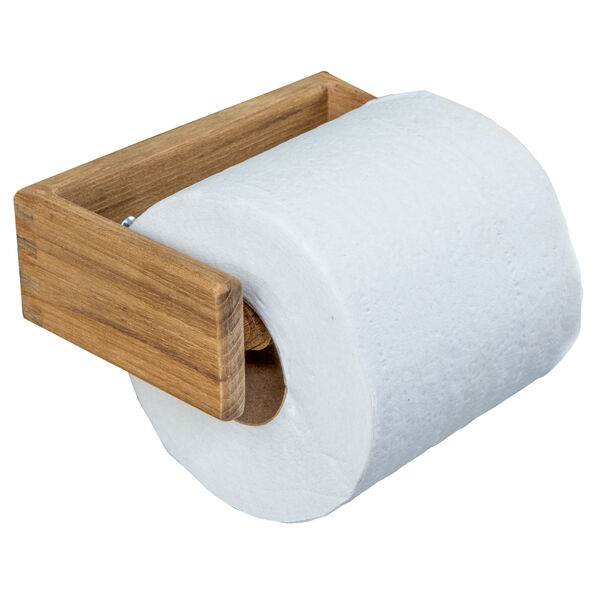 Whitecap Teak Teak Toilet Tissue Rack