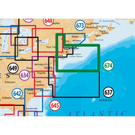 Navionics Platinum+ Map, Boston/New York - SD Cartridge