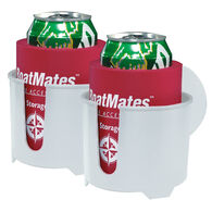 BoatMates Drink Holder Twin Pack, White