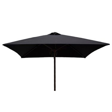 Classic Wood Square Patio Umbrella - 6.5'