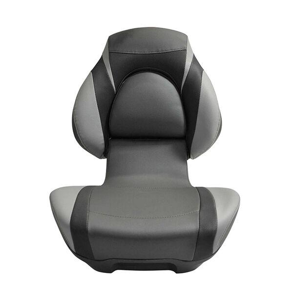 Semi-Custom Mirage Folding Fishing Seat  - Black/Grey