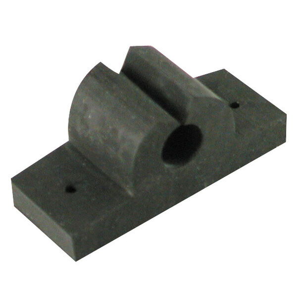 Rubber Rod/Tool Holder, black 1""
