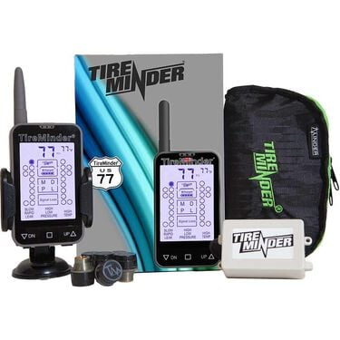 TireMinder TM-77 Tire Pressure Monitoring System with 6 Transmitters