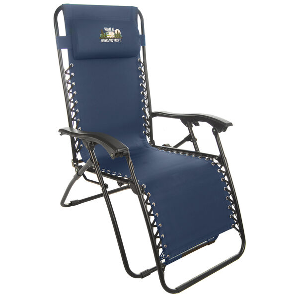 Home Is Where You Park It Zero Gravity Recliner, Blue