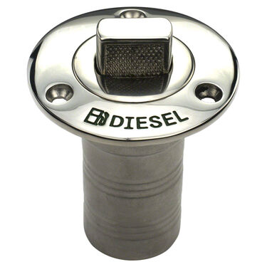 Whitecap Push-Up Diesel Hose Deck Fill
