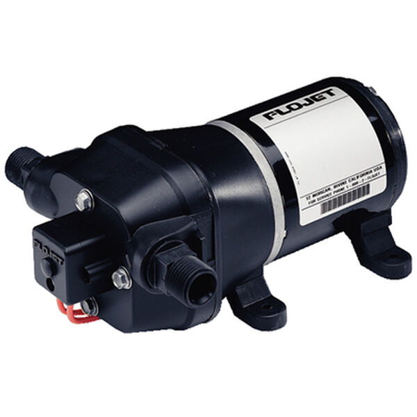 FloJet 4405 143 Quiet Quad Water System Pump with Bypass