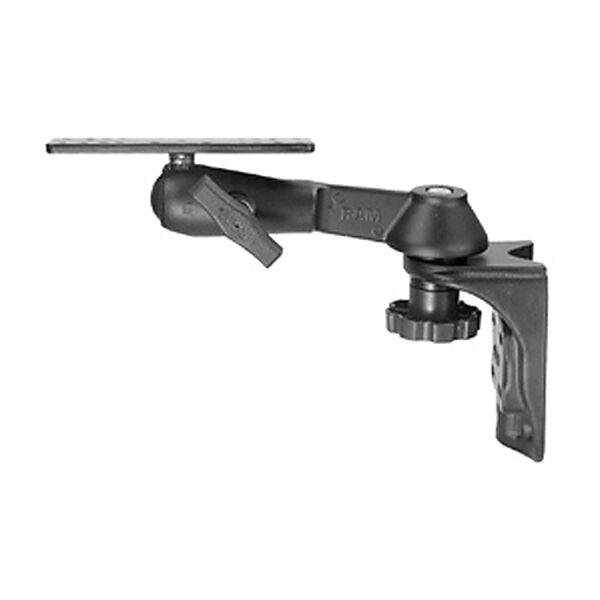 RAM Mount Single Arm Ball Mount for Gimbal Bracket ½ Vertical, under 15 lbs.