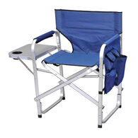 Ming's Mark Inc Director's Folding Chair, Blue