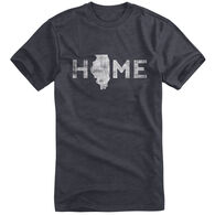 Points North Men's Illinois State Pride Short-Sleeve Tee