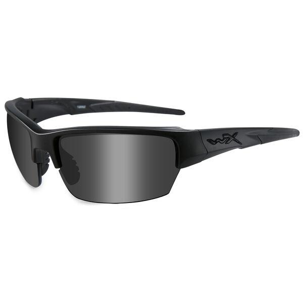 Wiley X Saint Sunglasses, Smoke Gray Lens/Black Frame