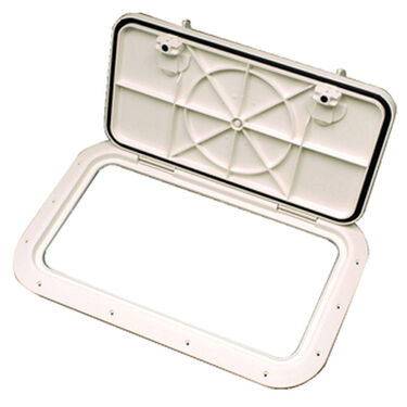 Molded Low-Profile Hatch