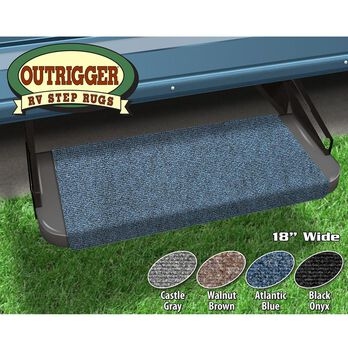 "Outrigger RV Step Rug, 23"", Atlantic Blue"