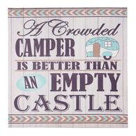 """A Crowded Camper"" Canvas Wall Art"