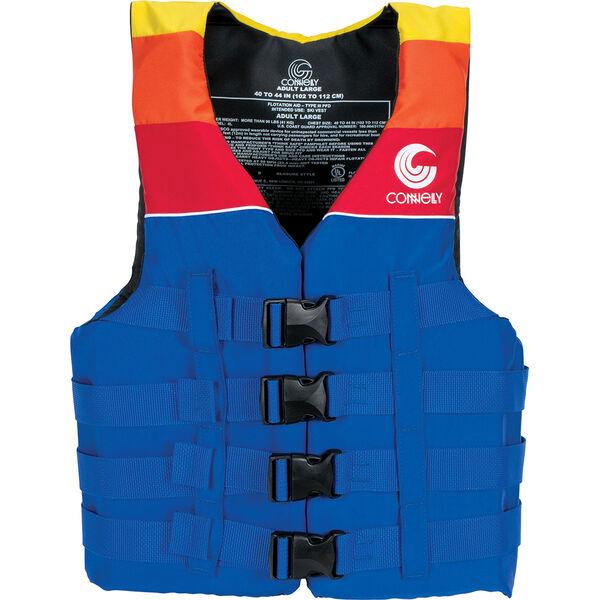 Connelly Men's 4-Belt Retro Nylon Vest