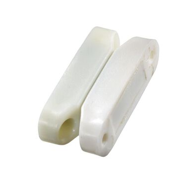 Magnetic Catches White, Set of 2