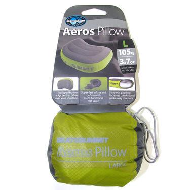 Sea To Summit Aeros Premium Inflatable Pillow, Green, Long