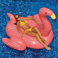 Swimline Giant Flamingo Ride-On Float