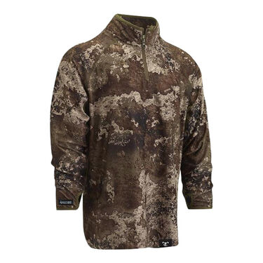 TrueTimber Men's High-Pile Half-Zip Pullover