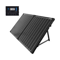 ACOPOWER PTK 100W Portable Solar Panel Suitcase with ProteusX 20A LCD Charge Controller