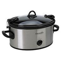 Crockpot 6-Quart Cook & Carry Manual Slow Cooker