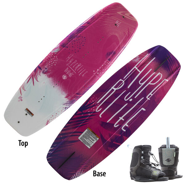 Hyperlite Divine 119 Wakeboard With Child Jinx Bindings