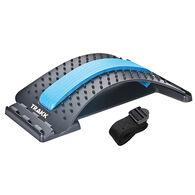 TRAKK Multi Level Back Stretching Device, Black/Blue