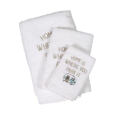 Home Is Where You Park It RV Bath Towel Set, 3 Piece