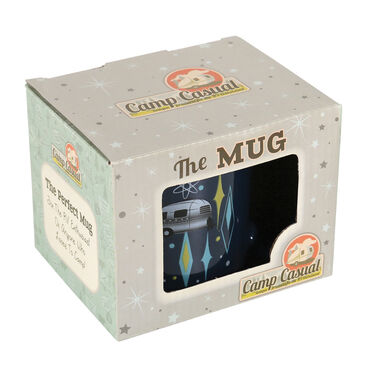 Camp Casual Mugs, Vintage Blues