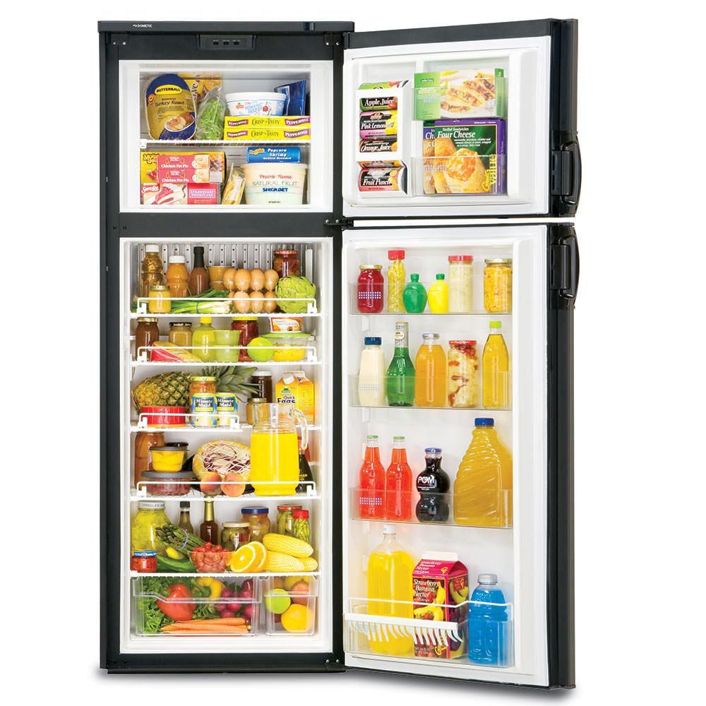Dometic New Generation RM3962 2-Way Refrigerator, Double Door, 9 0 Cu  Ft