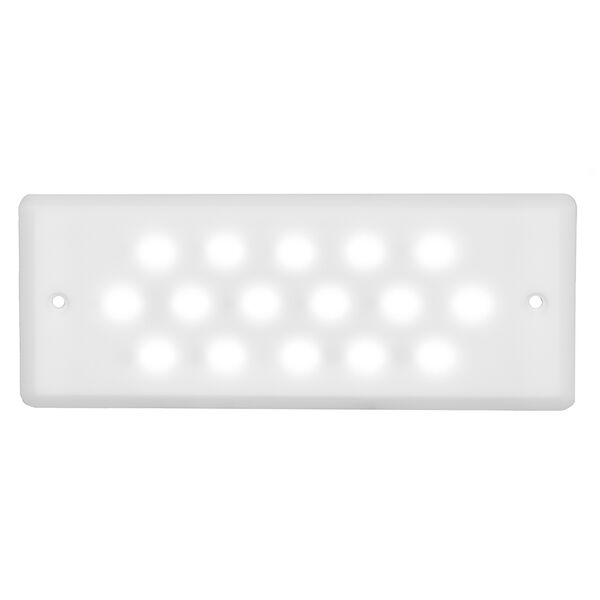 Macris Industries Ultra Thin Waterproof Area & Task Light - 8W - 1000 Lumens