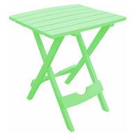 Quik-Fold Side Table, Sea Green