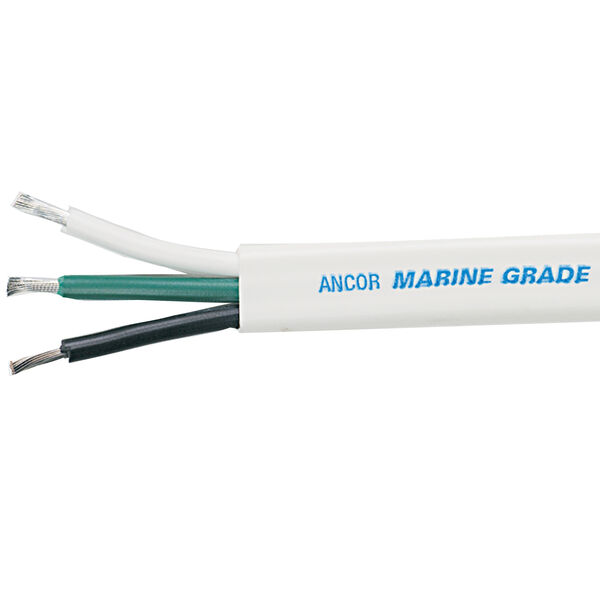Ancor 6/3 Triplex Cable 3 x 3mm, 100'