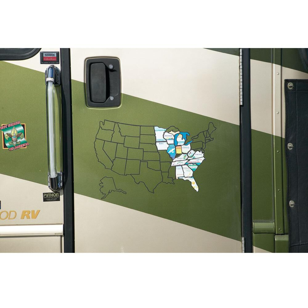 Permanent State Stickers | Camping World