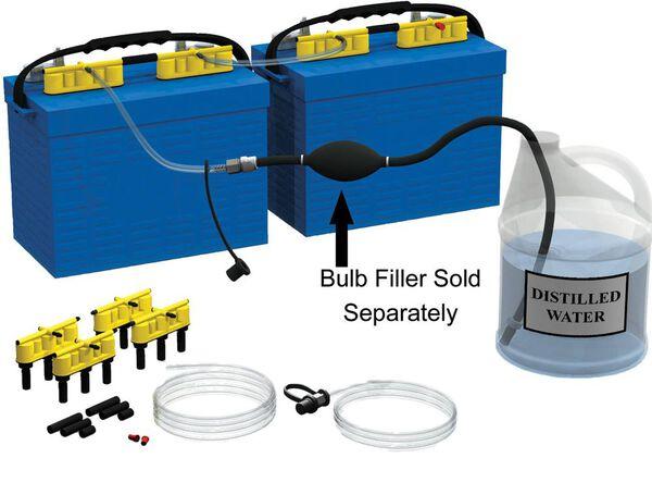 Qwik-Fill Dual 12-Volt Battery Watering System