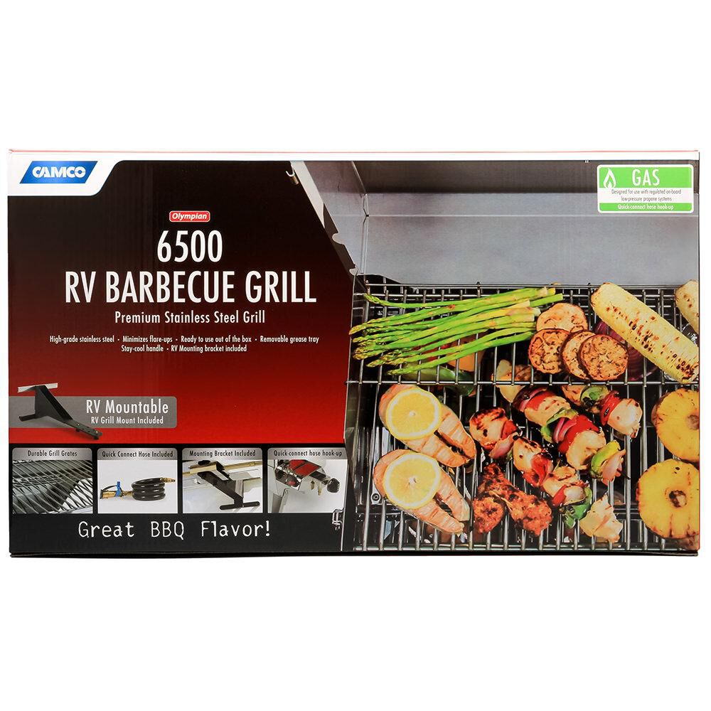 Olympian Rv 5500 Stainless Steel Rv Gas Grill Camping World