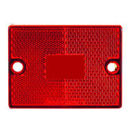 """Optronics Red Replacement Lens, 2-3/4"""" x 2-1/8"""""""