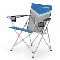 Columbia Tension Chair with Mesh, Blue and Gray