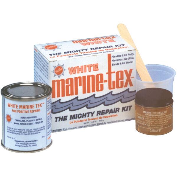Marine-Tex White Epoxy Putty Repair Kit, 2-1/2 lbs.