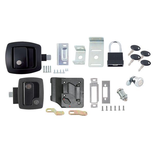 Bauer Deluxe Keyed-Alike RV Door Lock Kit